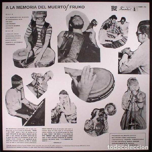 Discos de vinilo: FRUKO - A LA MEMORIA DEL MUERTO - 2017 VAMPI SOUL 180 GRAM VINYL REISSUE - Foto 2 - 175994984