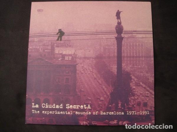 VARIOUS - LA CIUDAD SECRETA. THE EXPERIMENTAL SOUNDS OF BARCELONA 1971-1991 - 3XLP (Música - Discos - LP Vinilo - Electrónica, Avantgarde y Experimental)