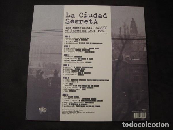 Discos de vinilo: VARIOUS - LA CIUDAD SECRETA. THE EXPERIMENTAL SOUNDS OF BARCELONA 1971-1991 - 3XLP - Foto 2 - 175996068