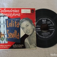 Discos de vinilo: GOLONDRINA MENSAJERA LOLITA SEVILLA EP . Lote 175996735