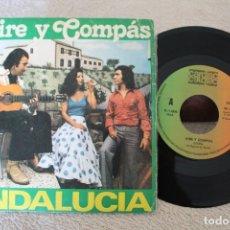 Discos de vinilo: AIRE Y COMPAS ANDALUCIA GLORIA SINGLE 1979. Lote 175997017