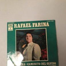 Discos de vinilo: RAFAEL FARINA. Lote 175997047
