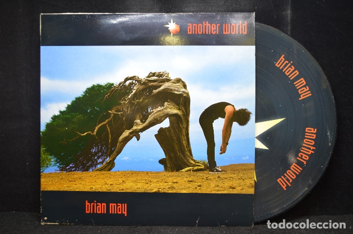 Discos de vinilo: Brian May - Another World - LP PICTURE DISC - Foto 1 - 176005774
