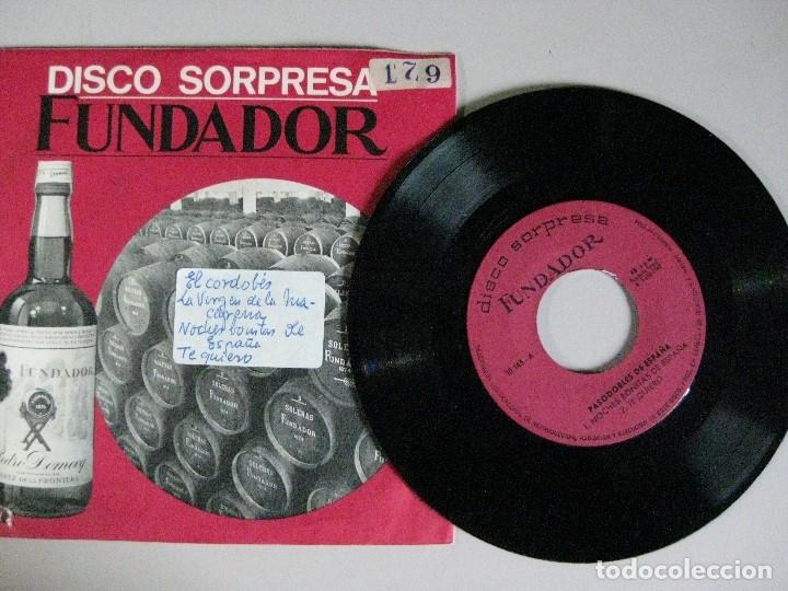 DISCO SORPRESA **FUNDADOR ** (Música - Discos - Singles Vinilo - Otros estilos)