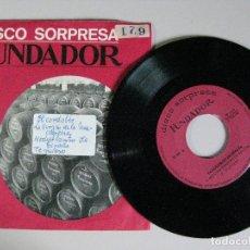 Discos de vinilo: DISCO SORPRESA **FUNDADOR **. Lote 176006774