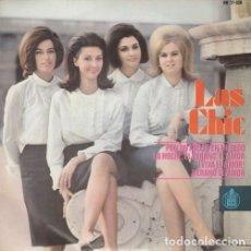 Discos de vinilo: LAS CHIC - PON UN ANILLO EN MI DEDO - EP DE VINILO DE 1965. Lote 176007362