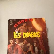 Discos de vinilo: LOS DIABLOS. Lote 176007728