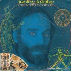 Discos de vinilo: JAVIER KRAHE - CIENCIAS OCULTAS - SINGLE DE VINILO . Lote 176009274