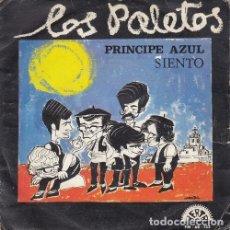 Discos de vinilo: LOS PALETOS - PRINCIPE AZUL / SIENTO - SINGLE DE VINILO PROMOCIONAL DISCOS BERTA. Lote 176009394