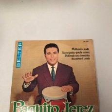 Discos de vinilo: PAQUITO JEREZ. Lote 176009889