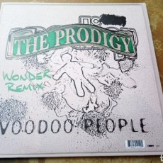 Discos de vinilo: THE PRODIGY - VOODOO PEOPLE / OUT OF SPACE - WONDER REMIX. MAXI - NUEVO - PERFECTO ESTADO. Lote 176010020