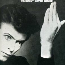 Discos de vinilo: DAVID BOWIE - HEROES. Lote 176010755