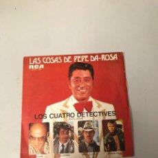 Discos de vinilo: LAS COSAS DE PEPE DA ROSA. Lote 176011949