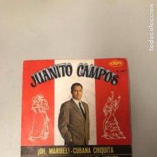 Discos de vinilo: JUANITO CAMPOS. Lote 176013218