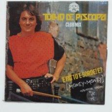 Discos de vinilo: TULLIO DE PISCOPO - 'E FATTO 'E SORDE! E? MAXI SINGLE. TDKDA60. Lote 176017904