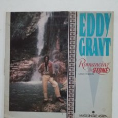 Discos de vinilo: EDDY GRANT – ROMANCING THE STONE. MAXI SINGLE. TDKDA60. Lote 176018277