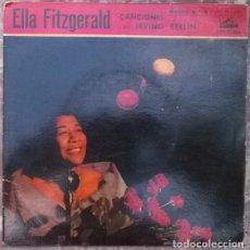 Discos de vinilo: ELLA FITZGERALD. CANCIONES DE IRVING BERLIN: CHEEK TO CHEEK + 3. LA VOZ DE SU AMO, SPAIN 1960 EP. Lote 176020780