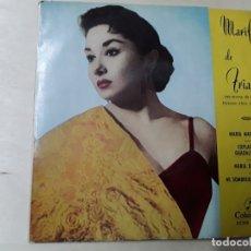 Discos de vinilo: DISCO DE MARIFE DE TRIANA, DEL AÑO 1961. Lote 176023094
