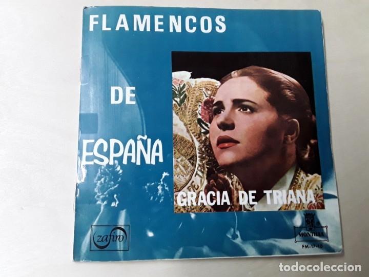 MAXISINGLE DE GRACIA DE TRIANA DEL AÑO 1965 (Música - Discos de Vinilo - Maxi Singles - Flamenco, Canción española y Cuplé)