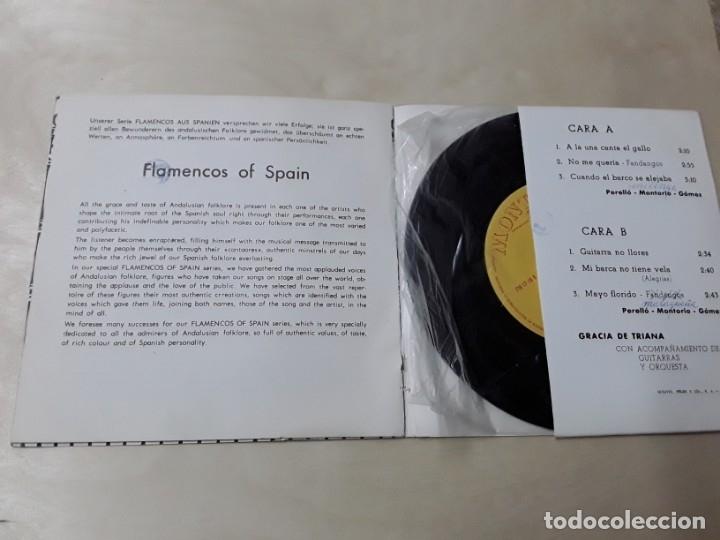 Discos de vinilo: Maxisingle de gracia de triana del año 1965 - Foto 3 - 176024329