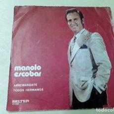 Discos de vinilo: DISCO DE MANOLO ESCOBAR DEL AÑO 1971. Lote 176024674