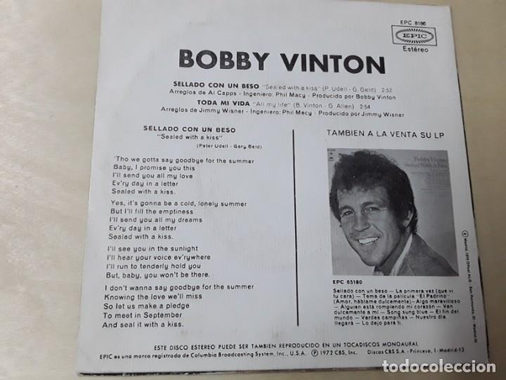 Discos de vinilo: Disco de bobby vinton del año 1972 - Foto 2 - 176025267