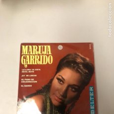 Discos de vinilo: MARUJA GARRIDO. Lote 176026140