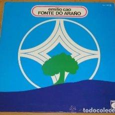 Discos de vinil: EMILIO CAO - FONTE DO ARAÑO. NOVOLA. 1977. CELTA. GALICIA.. Lote 176030307