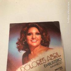 Discos de vinilo: DOLORES ABRIL. Lote 176051343