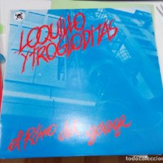 Discos de vinilo: LOQUILLO Y TROGLODITAS - EL RITMO DEL GARAJE - 3 CRIPRESES 1983 - ORIGINAL - CON LIBRETO DE TEXTOS. Lote 176051442