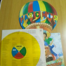 Discos de vinilo: VINILO LP LAS LOCURAS DE PARCHIS DISCO AMARILLO. Lote 176051788