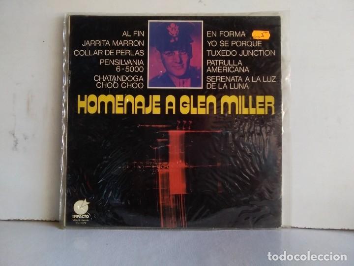 HOMENAJE A GLEN MILLER (Música - Discos - LP Vinilo - Jazz, Jazz-Rock, Blues y R&B)