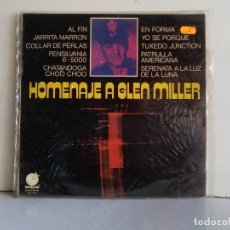Discos de vinilo: HOMENAJE A GLEN MILLER . Lote 176051802