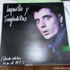Discos de vinilo: LOQUILLO Y TROGLODITAS - ¿DONDE ESTABAS TU EN EL 77? - 3 CIPRESES 1984 ORIGINAL - CON HOJA DE TEXTOS. Lote 176052054