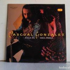 Discos de vinilo: PASCUAL GONZALES . Lote 176053547