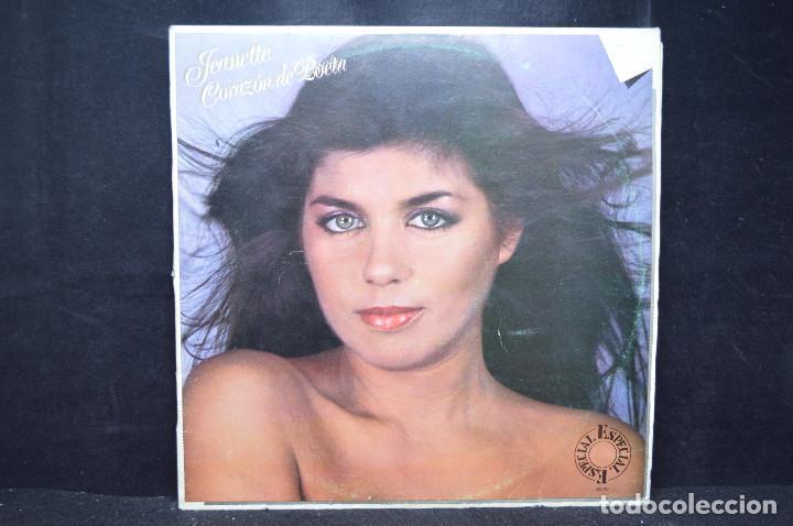 JEANETTE - CORAZÓN DE POETA - LP (Música - Discos - LP Vinilo - Solistas Españoles de los 70 a la actualidad)