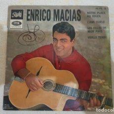Discos de vinilo: ENRICO MACIAS. Lote 176054917