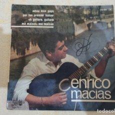 Discos de vinilo: ENRICO MACIAS. Lote 176055099