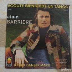 Discos de vinilo: ALAIN BARRIERE. Lote 176055395