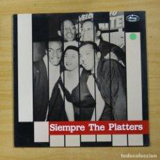 Discos de vinilo: THE PLATTERS - SIEMPRE THE PLATTERS - LP. Lote 176056204