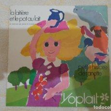 Discos de vinilo: PETITE HISTOIRE DE FANETTE. Lote 176056494