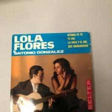 Discos de vinilo: LOLA FLORES. Lote 176056528