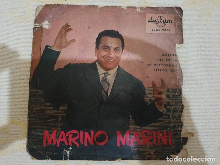 MARINO MARINI (Música - Discos de Vinilo - Singles - Pop - Rock Internacional de los 80)