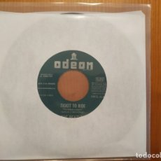 Discos de vinilo: BEATLES SG TICKET TO RIDE EDICIÓN ESPAÑOLA. Lote 176057843