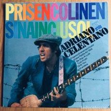 Discos de vinilo: ADRIANO CELENTANO LP ESPAÑA PRISENCOLINENSINAINCIUSOL. Lote 176060959