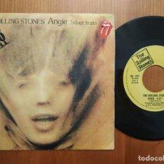 Discos de vinilo: ROLLING STONES SG ANGIE EDICIÓN ESPAÑOLA. Lote 176060972