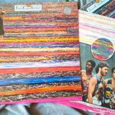 Discos de vinilo: JOHNNY CLEGG & SAVUKA - CRUEL CRAZY BEAUTIFUL WORLD. LP 1990.. Lote 176061987