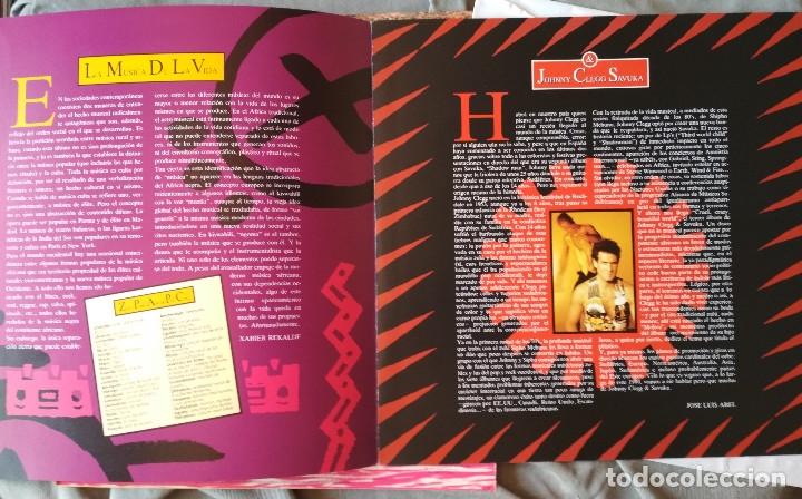 Discos de vinilo: JOHNNY CLEGG & SAVUKA - CRUEL CRAZY BEAUTIFUL WORLD. LP 1990. - Foto 4 - 176061987