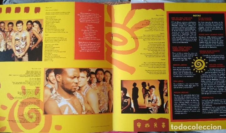 Discos de vinilo: JOHNNY CLEGG & SAVUKA - CRUEL CRAZY BEAUTIFUL WORLD. LP 1990. - Foto 5 - 176061987