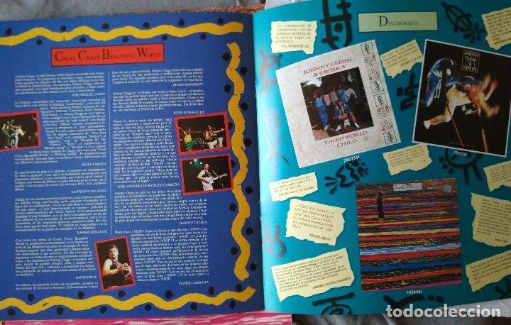 Discos de vinilo: JOHNNY CLEGG & SAVUKA - CRUEL CRAZY BEAUTIFUL WORLD. LP 1990. - Foto 6 - 176061987